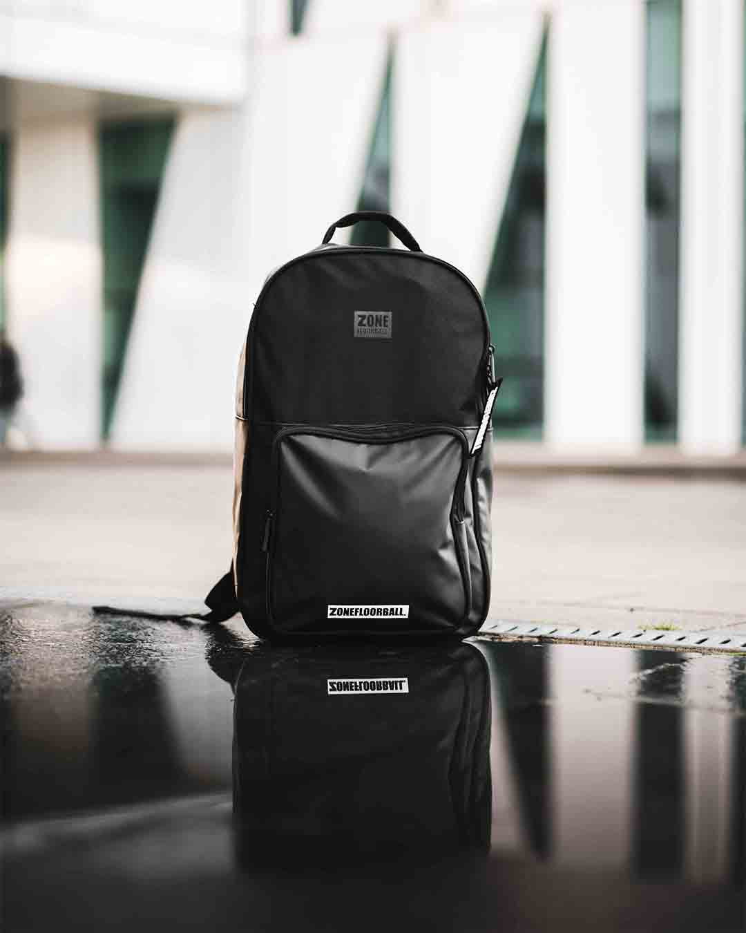 BACKPACK BRILLIANT BLACK/GREY