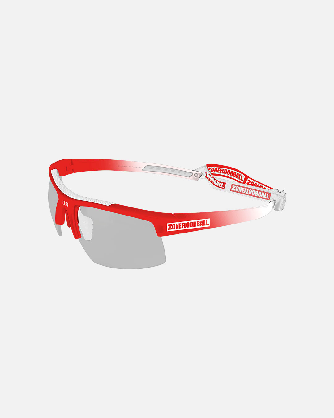 PROTECTOR SPORT GLASSES KIDS WHITE/RED