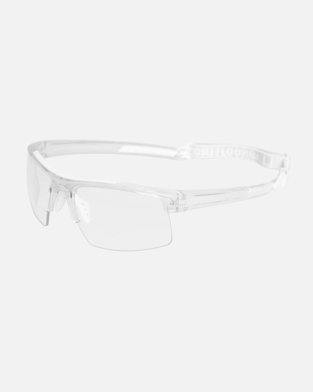 PROTECTOR SPORT GLASSES JUNIOR TRANSPARENT/WHITE